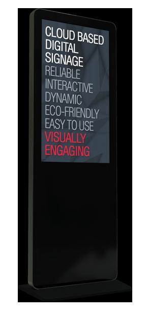Standing Digital Signage